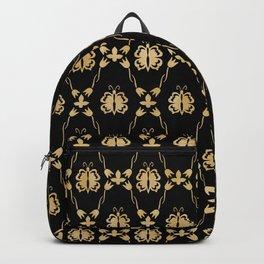 butterfly in tulips Backpack