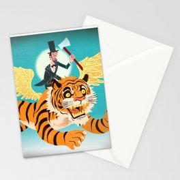 Abe Lincoln Flies a Tiger Stationery Cards