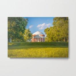 Virginia Charlottesville Lawn Print Metal Print