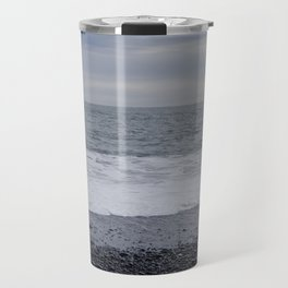 Iceland Calm Sea Black Beach - Vik Travel Mug