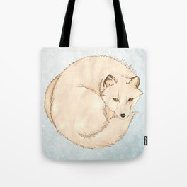 Isatis (Artic Fox) Tote Bag