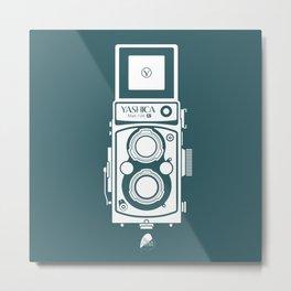 Yashica MAT 124G Camera Metal Print