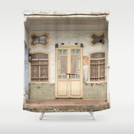 Old Shop House #26 Shower Curtain