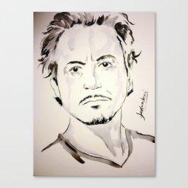 RDJ Canvas Print