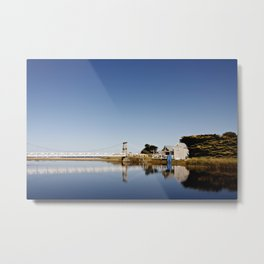 Dreamy Bridge Metal Print