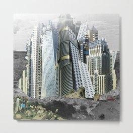 Turmbau zu Babel Metal Print
