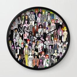 Tokyo Punks - Retro Green Wall Clock