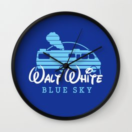 Walt White Wall Clock