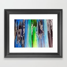 Vertical Framed Art Print