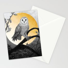 Golden Owl Stationery Cards