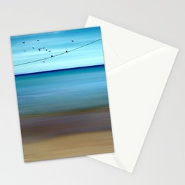 Cretan Sea & Birds II Stationery Cards