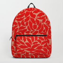 Valentine Love Kiss Red Lips Backpack
