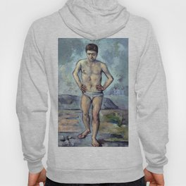 1885 - Paul Cezanne - The Bather Hoody