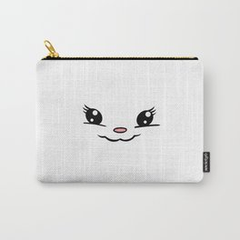Gumdrop Happy Selfie - (no whiskers) Carry-All Pouch