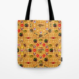 ALL YOU CAN EAT WALLPAPER 1 Tote Bag