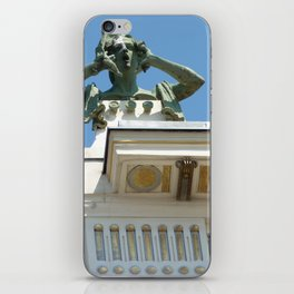 Vienna modern art iPhone Skin