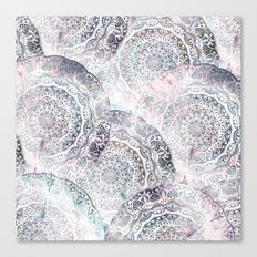 GALAXY BOHO MANDALAS Canvas Print