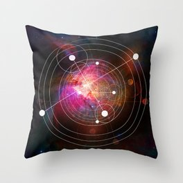 Taking a fresh approach without preconceptions Throw Pillow