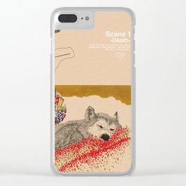 scene1 Clear iPhone Case