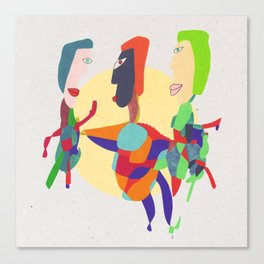 - threesome - Canvas Print