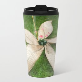 Open Flower Travel Mug