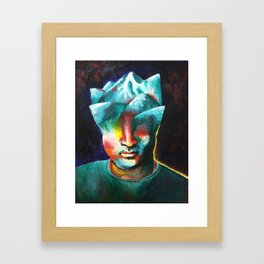 Mountains On My Mind Framed Art Print