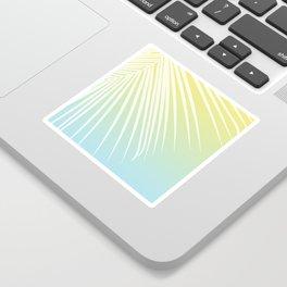 Pastel Palm 03 Sticker