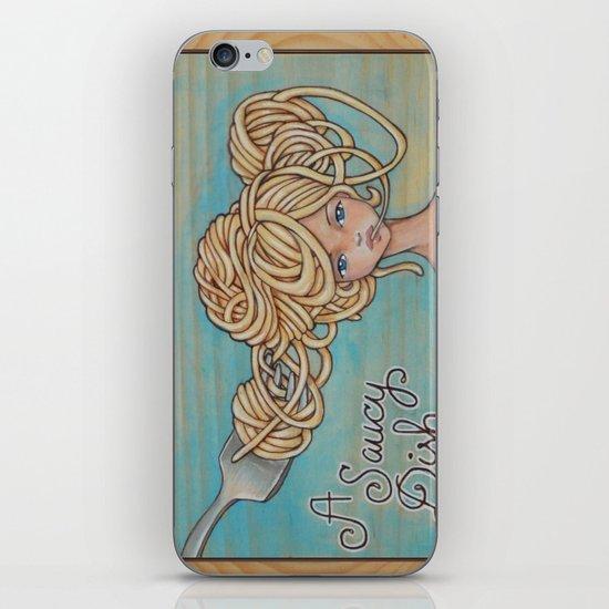 A Saucy Dish iPhone & iPod Skin
