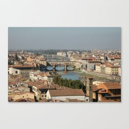 Florentine Skyline Canvas Print