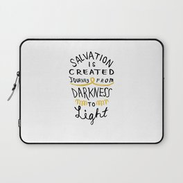 Salvation is Created Laptop Sleeve