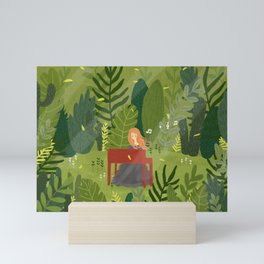 Melody and Forest Mini Art Print