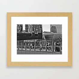 Vader Visits Vegas Framed Art Print