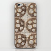 honeycomb iPhone & iPod Skins featuring Honeycomb by Finn Wild