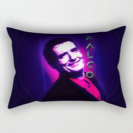 Falco Black Light Rectangular Pillow