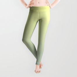 PARADISE COME - Minimal Plain Soft Mood Color Blend Prints Leggings