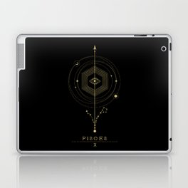 Pisces Zodiac Constellation Laptop & iPad Skin