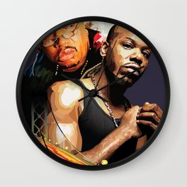 E-40 and Too Short Wall Clock