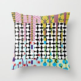 BLAND 01 Throw Pillow