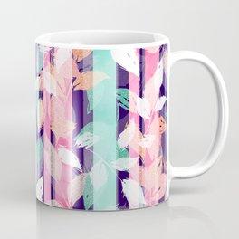 Cute Violet foliage brush paint design Coffee Mug