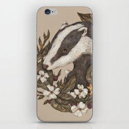 Badger iPhone Skin