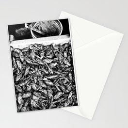 Crayfish Passel Stationery Cards