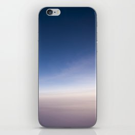 silent morning above Java iPhone Skin