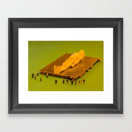 Gulliver Framed Art Print