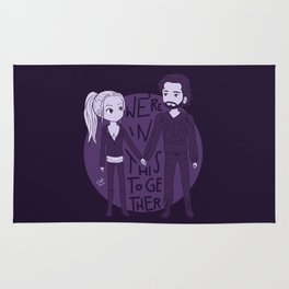We're in this together Rug