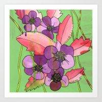 Wild Strawberry Art Print