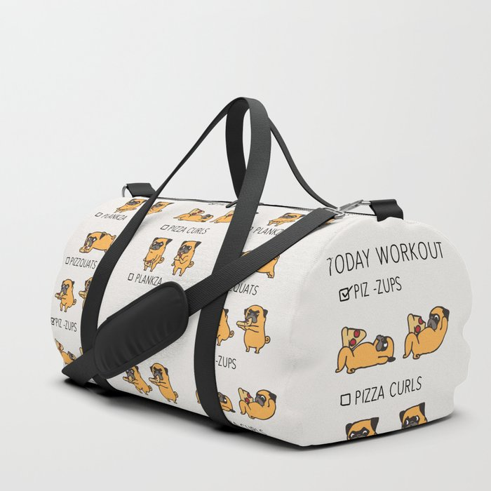 Today Workout Duffle Bag By Pugsgym