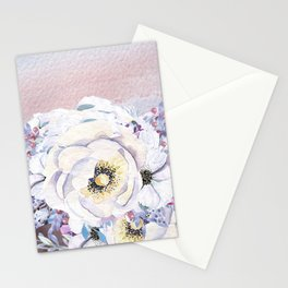 Flowers bouquet #59 Stationery Cards