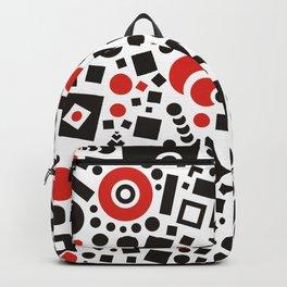 Black versus Red Backpack