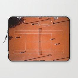 Tennis court orange Laptop Sleeve