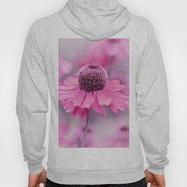 Pink flower macro 066 Hoody